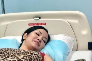 Diva Hồng Nhung bị chấn thương, cơ thể yếu ớt tiếp tục phải nhập viện điều trị