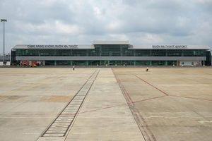 Sân bay Buôn Ma Thuột hoạt động trở lại sau sự cố