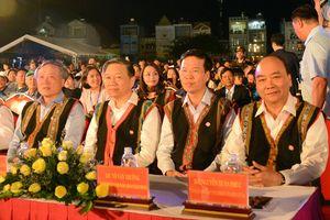 Thủ tướng dự khai mạc Festival văn hóa cồng chiêng Tây Nguyên 2018