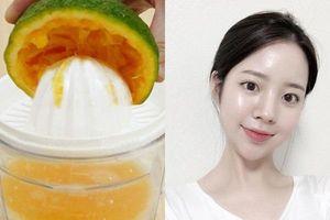 Mua toner vitamin C làm gì cho tốn kém, lấy nước ép cam pha chế theo cách này cũng mang đến tác dụng cấp ẩm, dưỡng da tương tự
