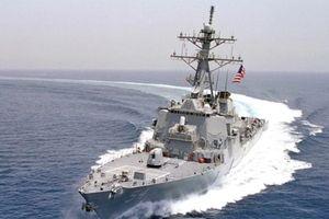 Mỹ lại cử tàu chiến qua Eo biển Đài Loan lần thứ 3 trong năm nay