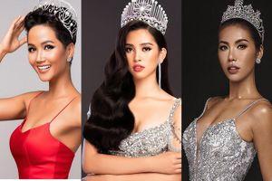 Tiểu Vy hành động 'lạ' khi Minh Tú bị 'dìm' ở Miss Supranational 2018