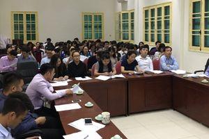Thành đoàn Hà Nội tổ chức tập huấn kỹ năng nghiệp vụ cho đoàn viên