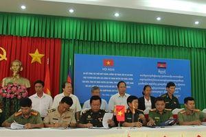 Hội nghị sơ kết phòng chống tội phạm khu vực biên giới