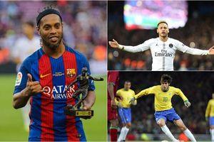 Top 10 'Vũ công samba' ghi bàn hàng đầu lịch sử Champions League