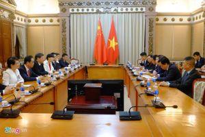 'TP.HCM quan trọng với kinh tế Việt Nam như Thượng Hải với TQ'