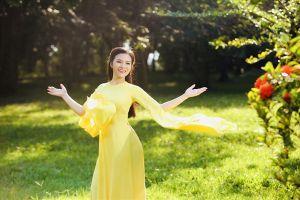 Lê Ngọc Thúy tái hiện hình ảnh người con gái xứ Thanh dịu dàng