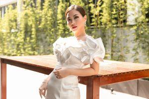 Á hậu Diễm Trang khoe vẻ đẹp gái một con tràn đầy gợi cảm