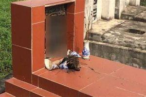 Gần trăm mộ bị phá bát hương: DN khẳng định không làm