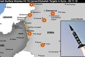 Sợ S-300, Israel cất tiêm kích, dùng tên lửa tấn công Syria