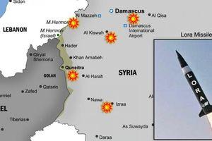 Israel dội 'bão lửa' vào Syria: 15 điểm nóng Iran bị tấn công