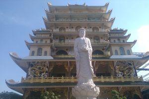 Độc đáo ngôi chùa có tòa chánh điện cao nhất Việt Nam