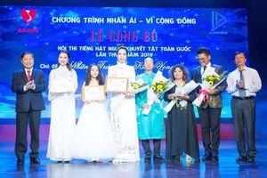 Hội thi Tiếng hát Người khuyết tật lần 2 tri ân các đơn vị tài trợ
