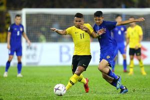 AFF Suzuki Cup 2018: Phung phí cơ hội, Malaysia hòa đáng tiếc trước Thái Lan