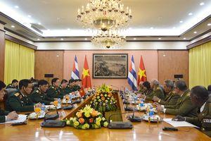 Hợp tác quốc phòng Việt Nam-Cuba ngày càng đi vào chiều sâu, có hiệu quả