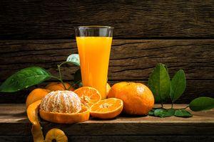 Uống nước cam giúp bảo vệ trí nhớ