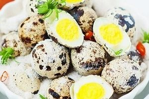 Những lợi ích vàng của trứng cút