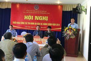 Bộ trưởng Lê Thành Long đánh giá cao những kết quả của Cục THADS tỉnh Kon Tum