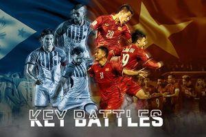 3 'điểm nóng' đáng chú ý nhất trận đấu giữa Philippines và Việt Nam