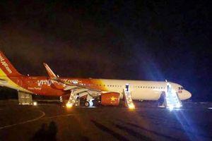 Loại bỏ nguyên nhân lỗi kỹ thuật của máy bay VietJet gặp sự cố hạ cánh