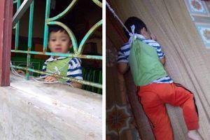 Bé trai bị buộc dây, cột vào cửa sổ trường học giờ ra sao?