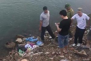 Hòa Bình: Phát hiện thi thể trẻ sơ sinh trong balo vứt ở bờ sông