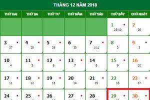 Cách tính lương cho lao động làm việc vào ngày nghỉ Tết dương 2019