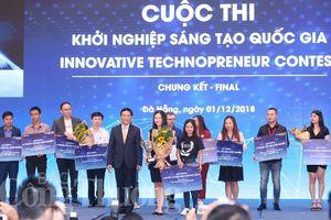 Phần mềm trên nền tảng AI vô địch Cuộc thi khởi nghiệp sáng tạo quốc gia năm 2018