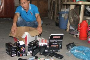 Lạng Sơn: Hàng nghìn vũ khí thô sơ, công cụ hỗ trợ bị bắt giữ