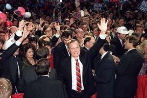 Cựu Tổng thống Mỹ George H.W. Bush và dấu ấn trong nhiệm kỳ