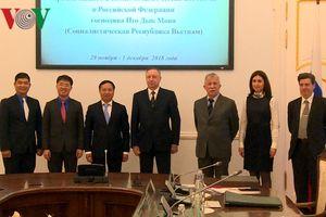Saint Petersburg tiếp tục đẩy mạnh hợp tác với Việt Nam