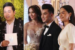 Quang Lê, Phạm Quỳnh Anh cùng dàn sao Việt dự lễ cưới Ưng Hoàng Phúc - Kim Cương
