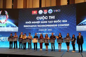 Đội Abivin đoạt giải vô địch cuộc thi khởi nghiệp sáng tạo quốc gia 2018
