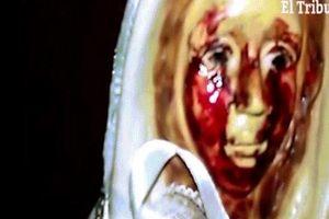 Tượng Đức mẹ Maria lần thứ 38 'khóc ra máu' ở Argentina