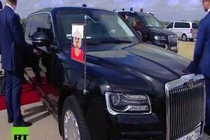 Siêu xe 'boong-ke 4 bánh' của ông Putin gây 'lóa mắt' ở hội nghị G20