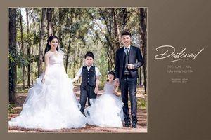 Cận cảnh nhan sắc cô dâu trong đám cưới 4 tỷ tiền rạp trang trí choáng ngợp ở Thái Nguyên
