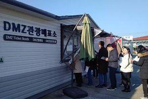 Chùm ảnh: Ngày mới tại Vùng phi quân sự liên Triều