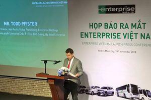 Thương hiệu cho thuê xe nổi tiếng của Mỹ gia nhập thị trường Việt Nam