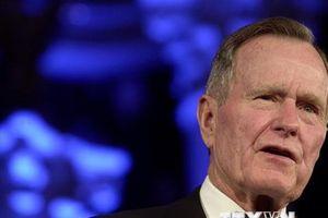 Mỹ treo cờ rủ 30 ngày tưởng nhớ cố Tổng thống Bush 'cha'