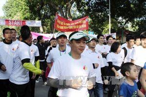 Hàng nghìn người tham gia cuộc Chạy vì trẻ em Hà Nội 2018