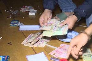 Thông tin chi tiết vụ nguyên Thượng úy công an tổ chức đánh bạc