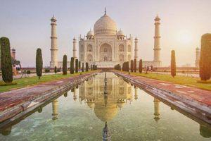 Taj Mahal- biểu tượng của tình yêu son sắt