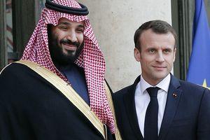 Tổng thống Pháp và Thái tử Arab Saudi trao đổi về vụ nhà báo Khashoggi