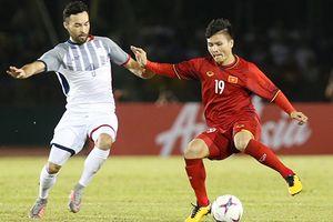 Bán kết lượt đi AFF Cup 2018: ĐT Việt Nam thắng Philippines trên sân khách