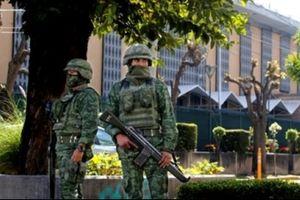 Lãnh sự quán Mỹ ở Mexico bị ném lựu đạn trong đêm