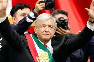 Tân Tổng thống Mexico nhậm chức, cam kết chống tham nhũng và mafia