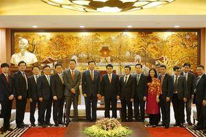 Hà Nội hoan nghênh Tập đoàn Lotte mở rộng đầu tư tại Thủ đô