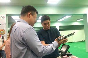 Huyền thoại bắn súng Jin Jong Oh trổ tài bắn 10 điểm tại Hà Nội