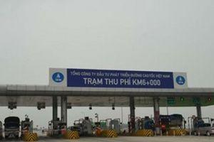 Ai 'bật đèn xanh' cho tiêu cực thu phí trên cao tốc Cầu Giẽ - Ninh Bình do VEC quản lý?