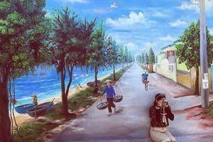 'Check- in' ngôi làng bích họa đẹp mộng mơ ở Quảng Bình